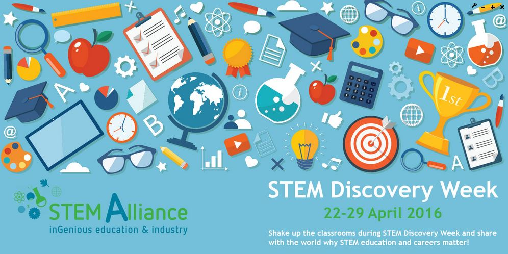 STEM Discovery Week Banner
