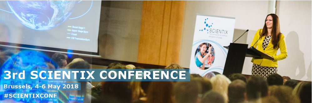 Scientix 3 Conference banner